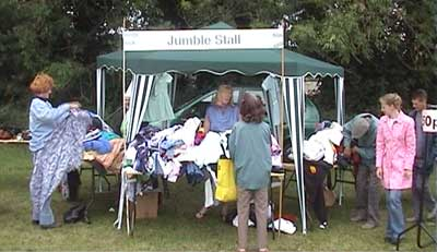 The usual stalls were there to attract customers