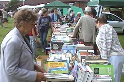 Much interest in the Book Stall