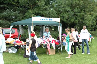 The usual stalls were all present - the Jumble attracted a good number of visitors